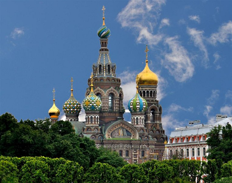 BeachwoodExhibit-Selected/Resurrection Church St Petersburg Russia ...